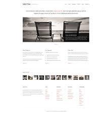 36 best minimalist website templates free u0026 premium templates