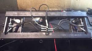 skidsteer adapter hydraulic handle video youtube