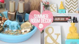 Diy Bedroom Ideas Diy Easy Summer Room Decor Laurdiy Youtube