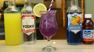 purple cocktail purple people eater youtube