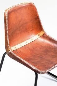 Esszimmer Stuhl Leder 2er Set Stuhl Vintage Brown Leather Esszimmerstuhl Leder By Kare