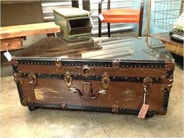 wooden trunk coffee table here are decorative trunks photos antique wooden trunk coffee table