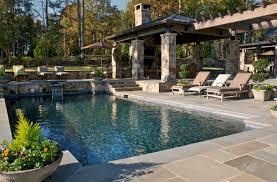 pool backyard design