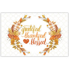 thankful placemats placemats