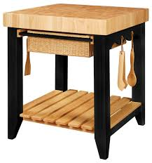 Butcher Block Top Kitchen Island Color Story Butcher Block Kitchen Island Black Tropical