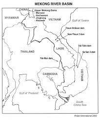 Blank East Asia Map by China Moves Oil Up The Mekong What Price The Environment The