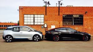 tesla electric car tesla designs their electric vehicles from the ground up bmw