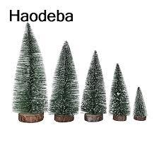 10 25cm mini artificial tree tabletop tree assorted pine