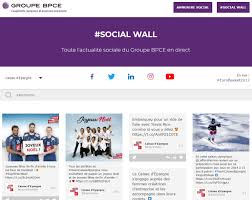 caisse d pargne si e social why use a social wall on your website