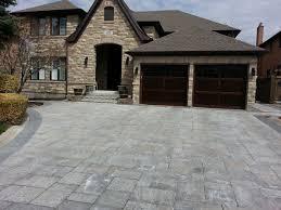 driveway landscaping vaughan u0026 toronto u2013 concrete interlock