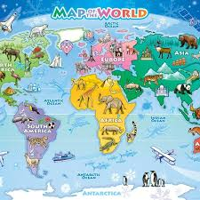 usa map jigsaw puzzle by hamilton grovely 2 map of the world 48 pc floor jigsaw puzzle puzzle palace australia