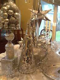 dining room christmas decor white and silver christmas decorating traditional dining room