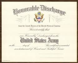 honorable discharge certificate blank us army honorable discharge certificate 1950