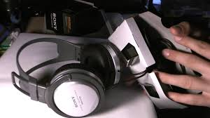 sony home theater headphones sony mdr xd100 headphones unboxing youtube