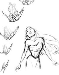 the art of the disney princess by glen keane original sketch for