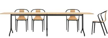 Rectangular Bistro Table Vitra Belleville Table Rectangular