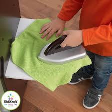 kidkraft modern espresso kitchen amazon com kidkraft espresso laundry set toys u0026 games
