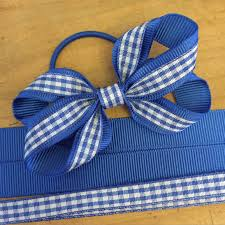 ribbon for hair gingham twisted ribbon hair bow design 3 gingham hair bows