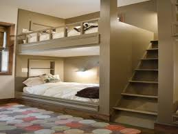 Wall Bunk Beds White Bunk Beds With Stairs Rack Before The Lovely Pink Wall