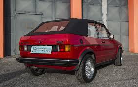 volkswagen golf 1987 volkswagen golf cabriolet vgarage classics
