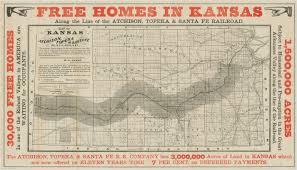 Paper Town Map Map Of Kansas Kansas Memory Kansas Historical Society