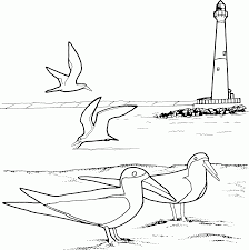 lighthouse coloring pages for kids coloring home