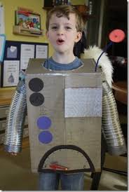 Robot Costume Halloween 12 Space Images Costume Ideas Costumes Kids