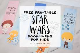 printable bookmarks for readers star wars bookmarks free printables for kids our handcrafted life