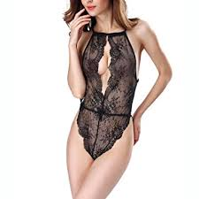 honeymoon nightwear women transparent dress badydoll set