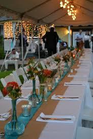 Tiffany Blue Wedding Centerpiece Ideas by Weddings In St Augustine Florida