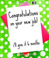 Congrats On New Job Card Obscene Funny Congratulations Pregnancy And Birth By Obscenity Cards