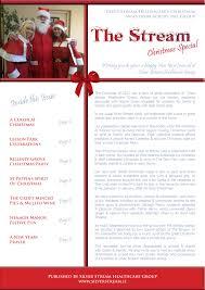 silver stream christmas newsletter silver stream healthcare