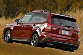subaru forester red 2016 2018 subaru forester