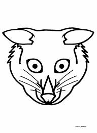 masquerade dress ups mask printables easy zoo animal mask