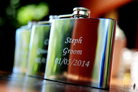 and groom flasks best groomsman of the and groom hip flasks