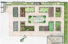 raised bed garden layout plans plan showing the location of