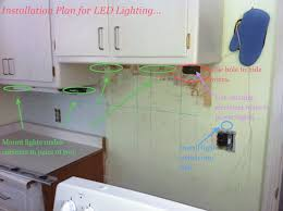 Led Lighting Under Kitchen Cabinets by Installing Under Cabinet Led U0027s Winslow Home Living