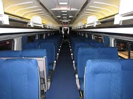 Coach Interior For Cars Difference Between Amtrak Coach And Business Class Amtrak Coach