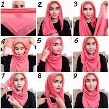 tutorial jilbab jilbab 52 best tutorial hijab images on pinterest hijab styles head