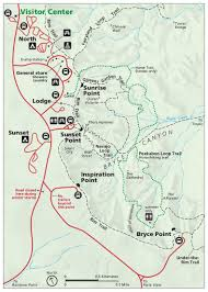 Utah National Parks Map by Bryce Canyon National Park Ut U2013 Livethedreamwithtori