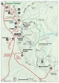 Utah National Parks Map by Bryce Canyon National Park Ut U2013 Livethedreamwithtori