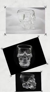 wholesale home decor gifts bar drinking ware crystal skull head