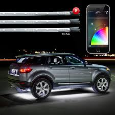 app controlled car lights 8x24 undeglow tubes xkchrome ios android app bluetooth control