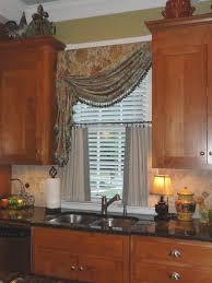 kitchen curtain ideas sunshiny kitchen window curtain ideas