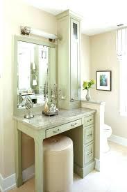vanity make up table corner makeup vanity table mailgapp me