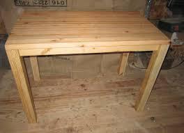 table cuisine en bois table de cuisine touch du bois