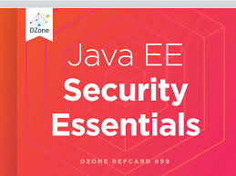 java ee security essentials dzone refcardz