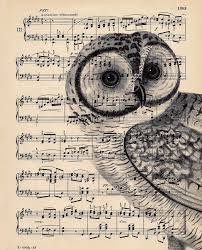 vintage halloween artwork dishfunctional designs upcycled sheet music crafts
