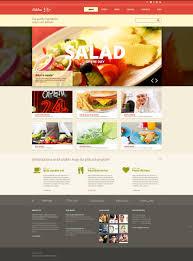 fast food restaurant responsive joomla template 48264