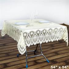 tablecloth for 54x54 table 54x54 waterproof vinyl tablecloth cover